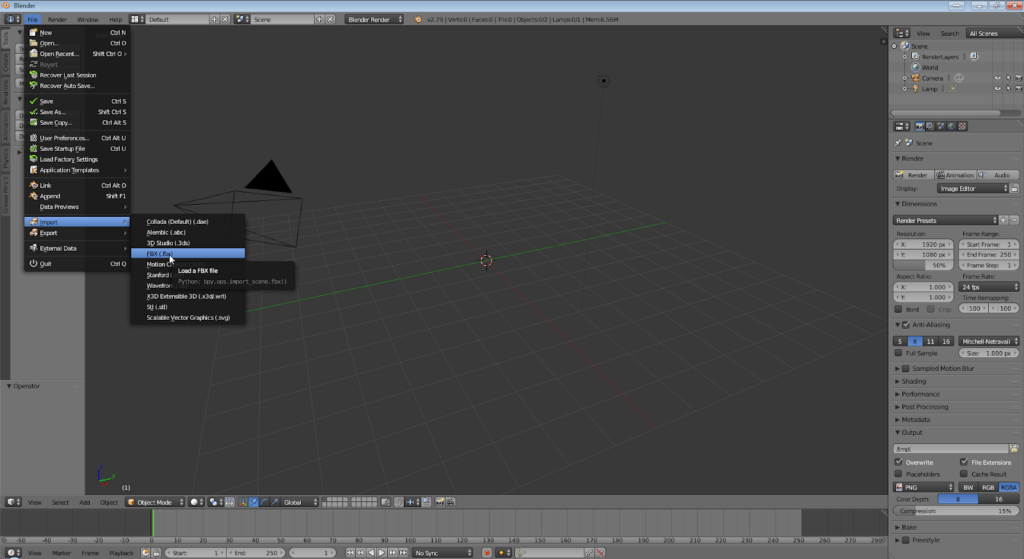 How to re-play in Blender quality 3D-face-animation created